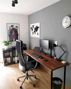 55, Incredible, Diy, Office, Desk, Design, Ideas, And, Decor, 17