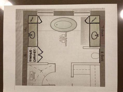 layout master bathroom ideas pinterest