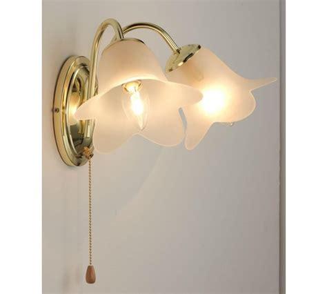 buy home carolina wall light polished brass at