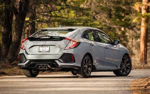Honda Civic Hatchback Picture by 2017 Honda Civic Hatchback Sport Test Motor Trend