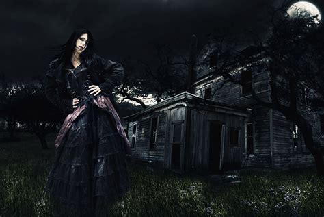 gothic girl digital art photoshop manipulation fantasy