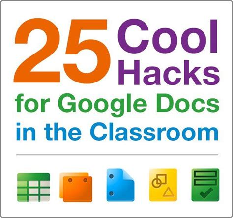 25 ways Google docs can make tasks in the classroom easier ...