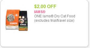 iams cat food coupons iams cat food only 2 99 with kroger mega