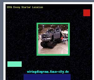 2006 Envoy Starter Location  Wiring Diagram 185624