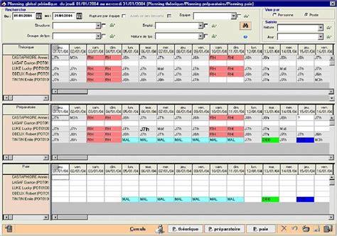logiciels de plannings tous les fournisseurs