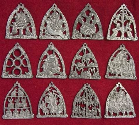 twelve days of christmas decorations