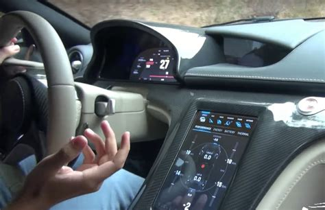 A rare inside look at Rimac Concept One's Tesla like