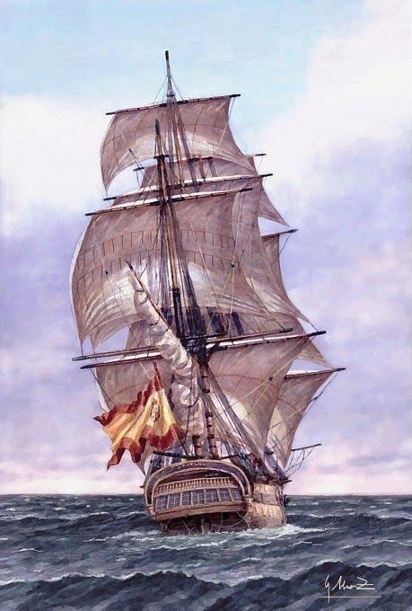 Imagenes De Barcos Del Siglo Xviii by Pintura Del Nav 237 O Del Siglo Xvii San Genaro Armada