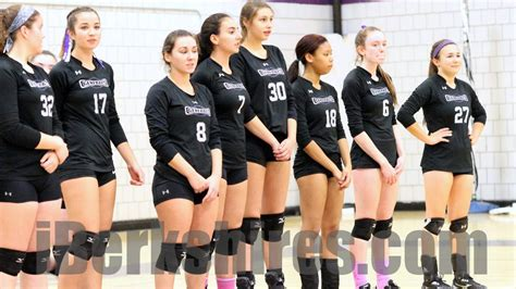 pittsfield volleyball sweeps central  western mass