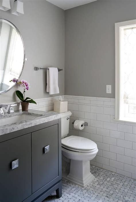 Charming White And Gray Bathroom  Bathrooms Pinterest