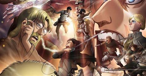 nuevo poster de shingeki  kyojin temporada  parte