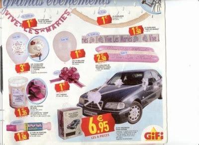 kit deco voiture mariage gifi decoration voiture mariage gifi