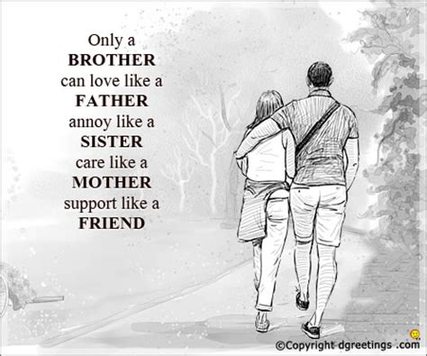 Love U Like A Brother Quotes