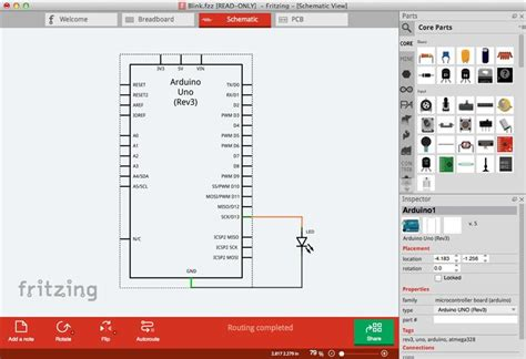 fritzing free pcb design software allpcb