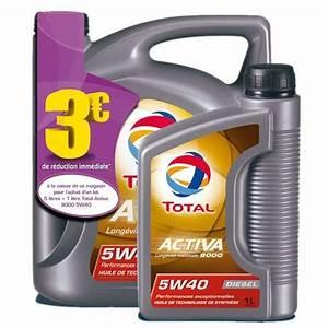 Huile 5w40 Diesel Leclerc : huile moteur total activa 9000 5w40 diesel feu vert ~ Dailycaller-alerts.com Idées de Décoration