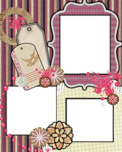 scrapbook layout templates sweetly scrapped