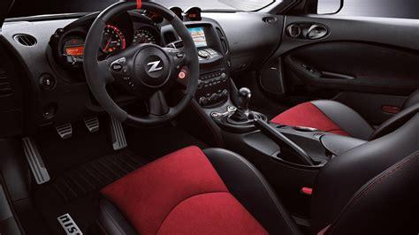 nissan 370z interior 2018 nissan 370z coupe sports car nissan canada