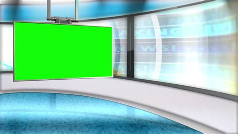 tv green screen template white tv studio background stock footage video shutterstock