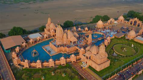nilkanthdham swaminarayan temple  poicha hd photo hd