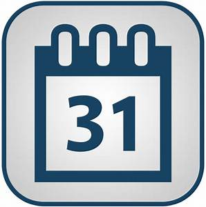 Calendar Icon Black And White Png - ma