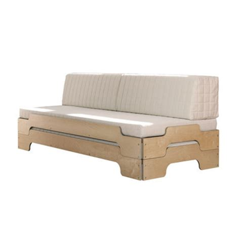 transformer lit en canapé coussin dossier pour transformer le lit empilable en