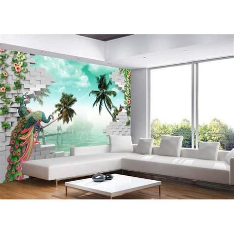 printed paper living room  wallpaper rs  square