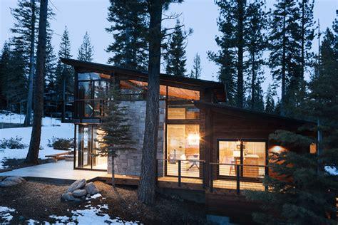 hillside cabin plans sagemodern prefab home modernprefabs