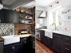 tendence cuisine latest cuisine tendance surmesure With couleur mur salon tendance 14 cuisine bois et noir cuisines en bois cuisines et modles