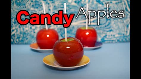 How to make Candy Apples - YouTube