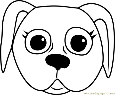 danish pointer puppy face coloring page  pet parade