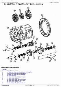 John Deere 7610  7710  7810 2wd Or Mfwd Tractors Service Repair Technical Manual  Tm1651