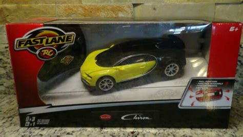That and more all today on fast lane daily, hosted by derek d! Fast Lane Bugatti Chiron 1 24 R/c Car Black & Yellow Toys ...