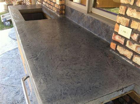 slate slab countertop concrete countertops sted concrete countertop desert