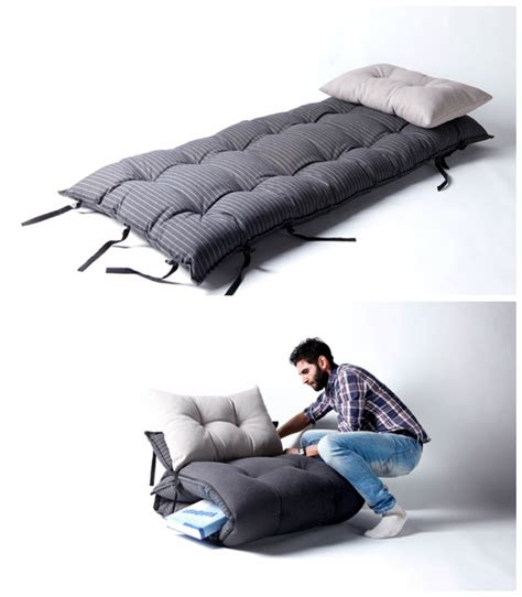 bed that turns into a bed turns into armchair living in a shoebox