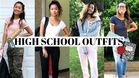Cute High School Outfits Ideas!
