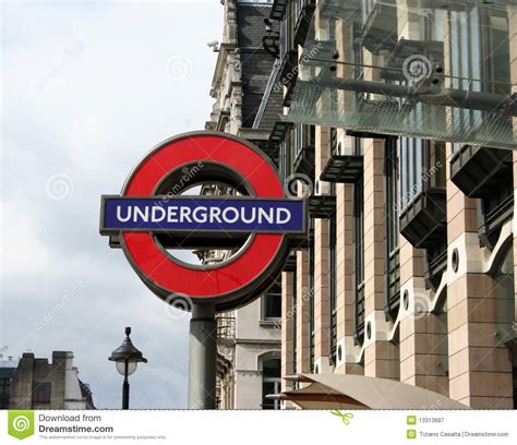 london underground sign editorial photography image