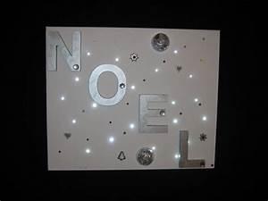 Cadre Lumineux Message : cadre lumineux noel couleurs et creations ~ Teatrodelosmanantiales.com Idées de Décoration