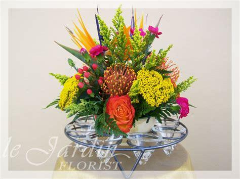 the flower arrangement le jardin florist