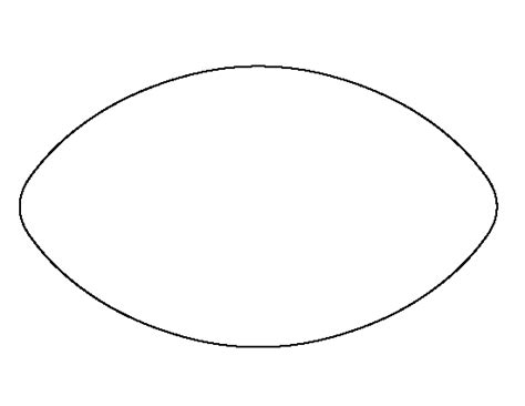 Football Pattern Use The Printable Outline For Crafts