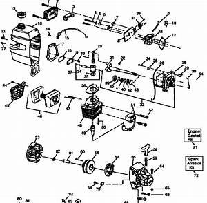 Craftsman 32cc Weedwacker Parts Diagram