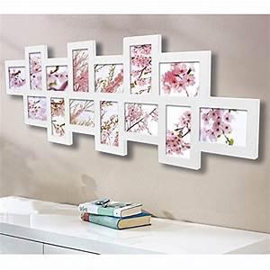 Bilderrahmen Für Collage : woltu br9700 bilderrahmen holz rahmen f r 14 fotos ~ Watch28wear.com Haus und Dekorationen