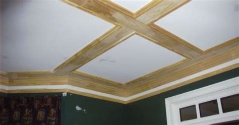 number  shallow coffered living room pinterest