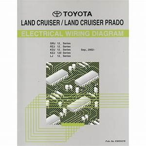 2002 Toyota Landcruiser    Prado Electrical Wiring Diagram Workshop