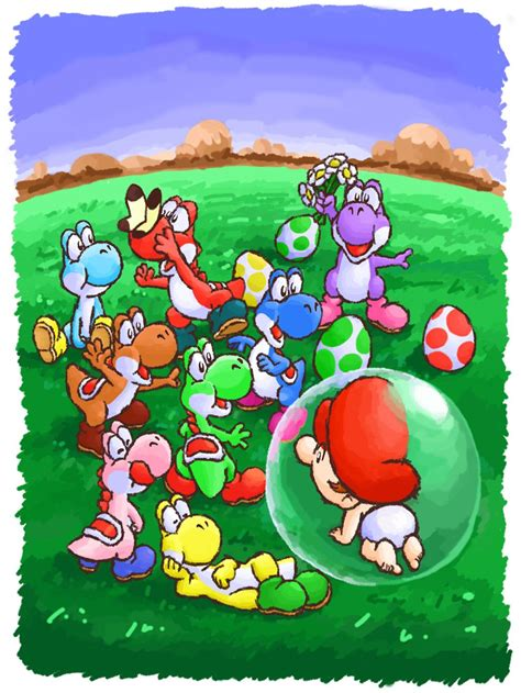 Yoshis Island Loved This Game Products I Love Mario
