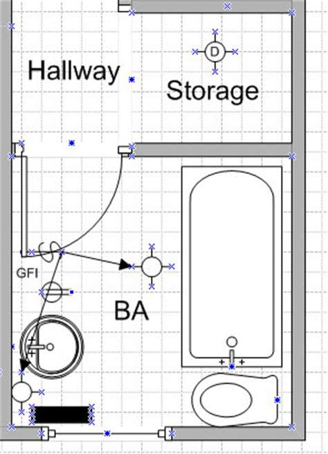dedicated bathroom junction box