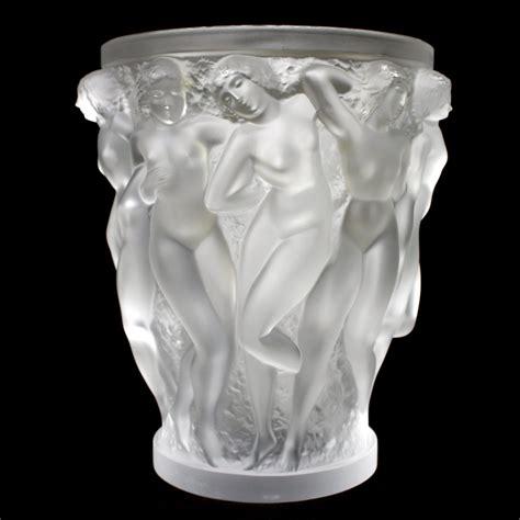 lalique vase awesome lalique bacchantes glass vase 171 huubgeurts