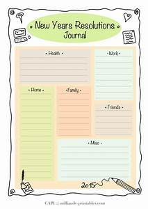 resolution new year printable 2015 day planner template With new years goals template