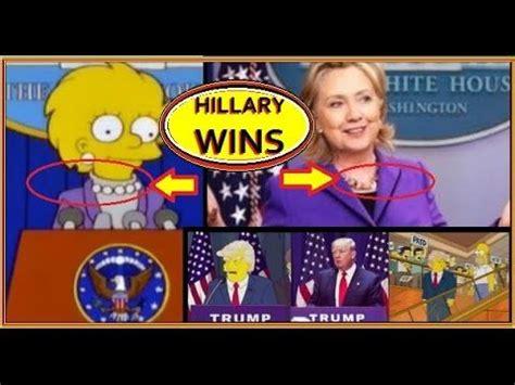 Donald Trump Prediction Simpsons