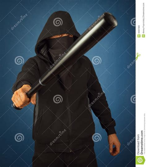 dangerous man stock photo image