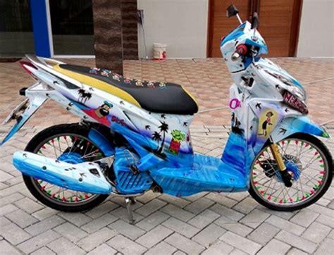 Foto Vario 125 Thailook by Foto Modifikasi Honda Vario 125 Esp Pemenang Kontes